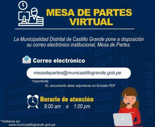 mesa de partes virtual